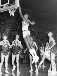 Wilt Chamberlain always drew a crowd on and off the court