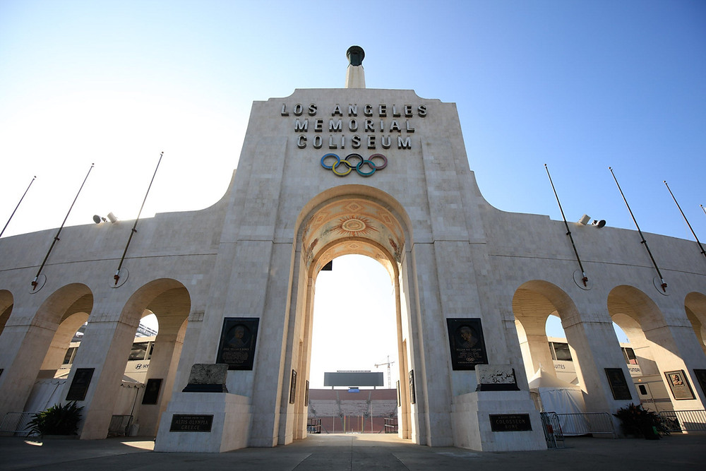 LA Memorial Coliseum, Home of the LA Coliseum Relays