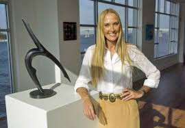Cathy Oerter at Art of the Olympians Gallery