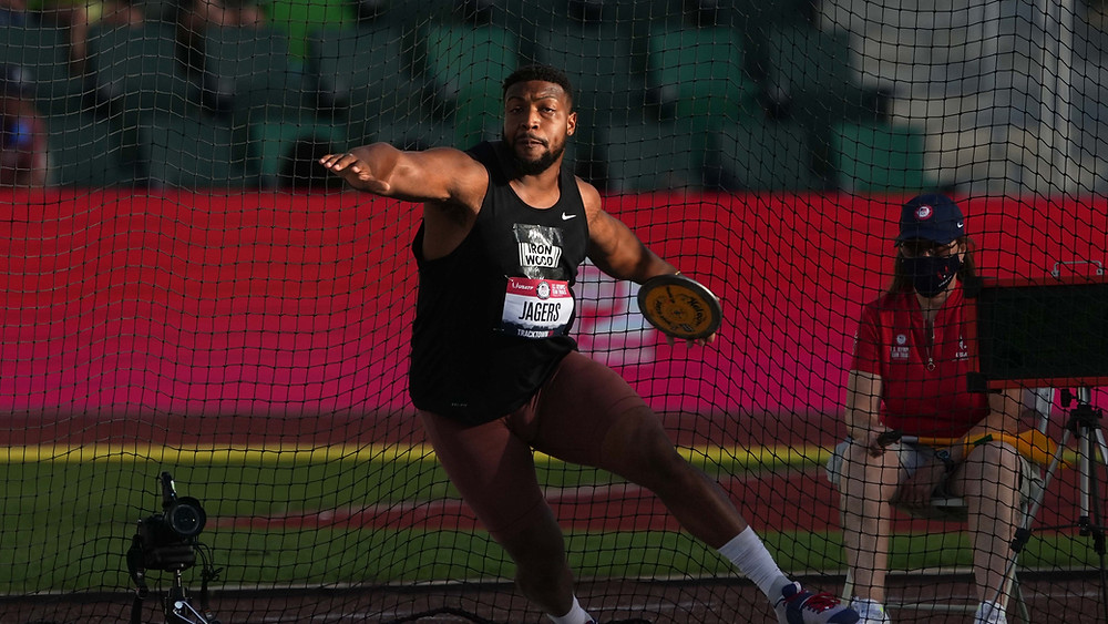 Southpaw Reggie Jagers at the U.S. Olympic Trials
