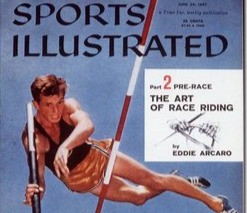 Sports Illustrated Cover with Bob Gutowski 6/24/57