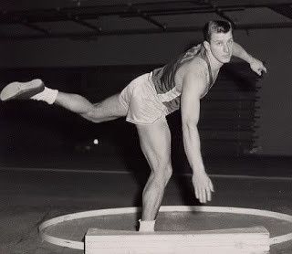 Al Oerter at Kansas after a throw