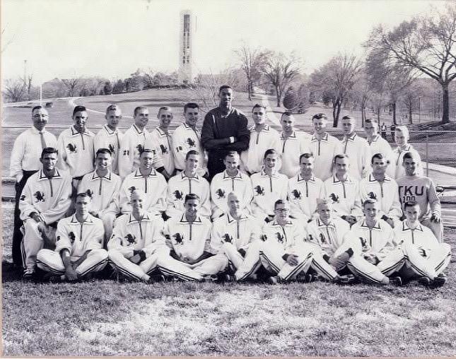 Kansas U 1957 Track Team