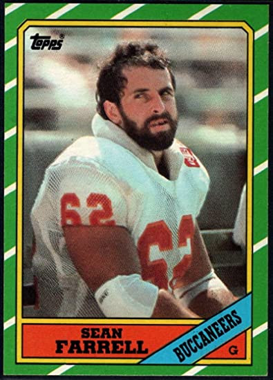 Sean Farrell Tampa Bay Trading Card - 1st Team All-Pro 1984