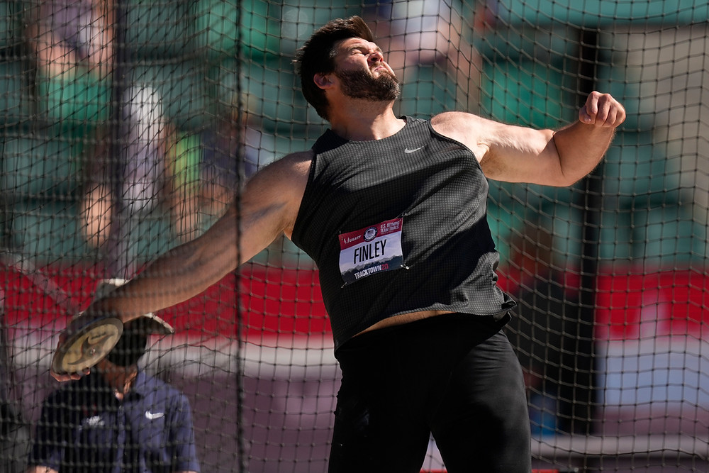 Mason Finley wins Men's Discus at 2021 U.S. Olympic Trials