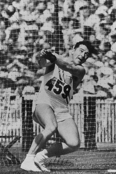 Hal Connolly, Gold Medalist in Hammer Throw, 1956