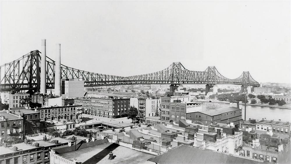 The new Queensboro Bridge (1908)