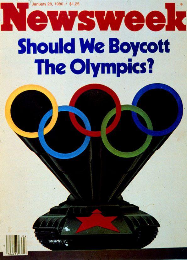 Olympic Boycott Newsweek Magazine January, 1980