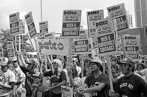 PATCO strike August, 1981