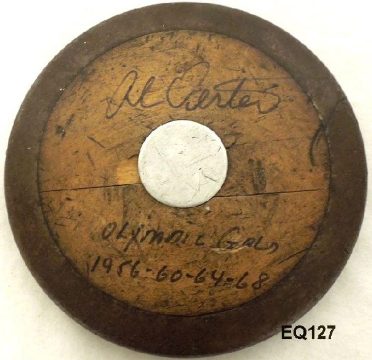 Al Oerter's Gill Discus - Wood Side
