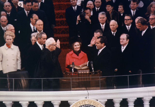Inauguration of President Nixon, January 1969