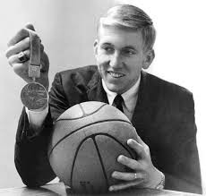 Bill Hosket with his Gold Medal 1968