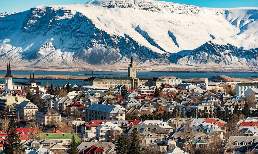 Downtown Reykjavik today