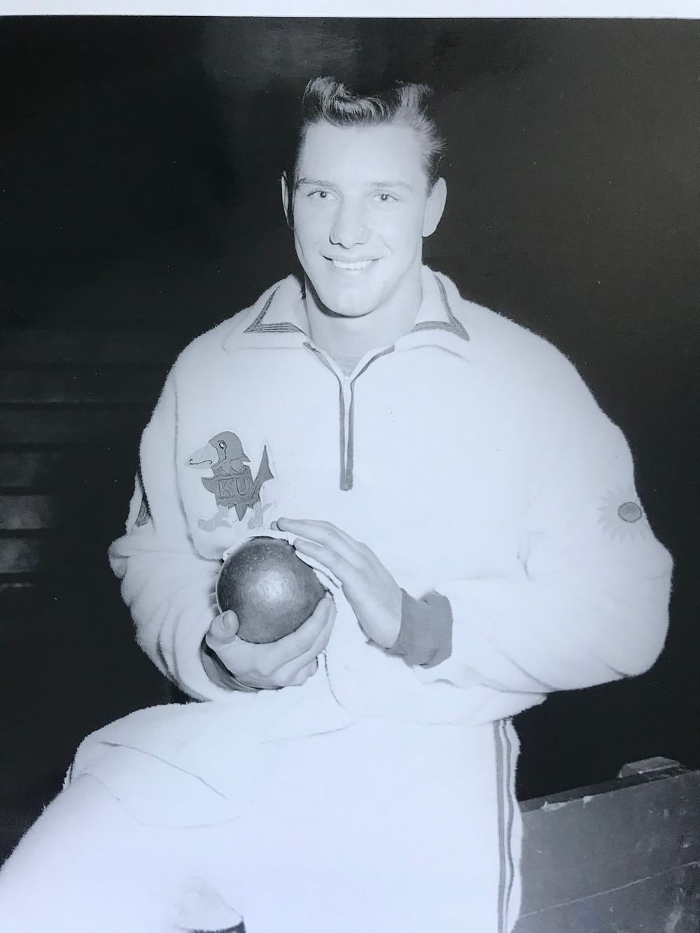 Al Oerter, Indoor Season at Kansas
