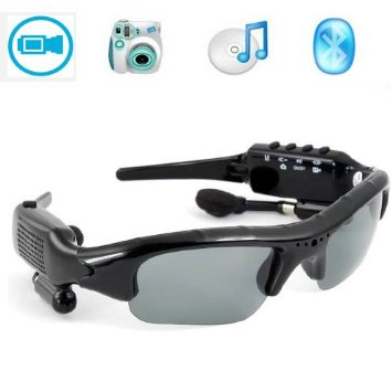 Bluetooth spy glasses