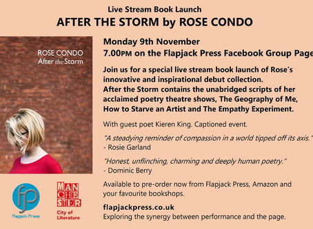 After the Storm by Rose Condo Book Launch from Flapjack Press