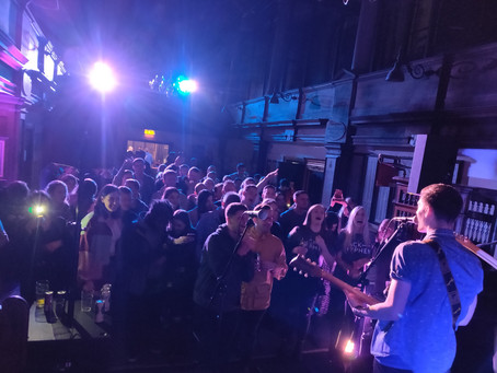 Jack Hyphen EP launch party at Sacred Trinity Church