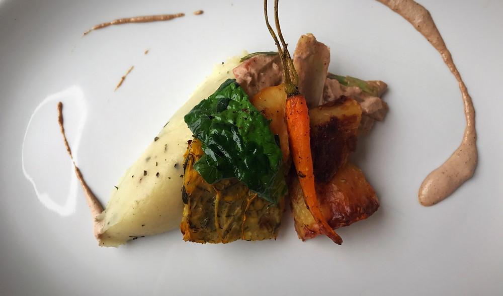 Roast Dinner, the allotment, stockport