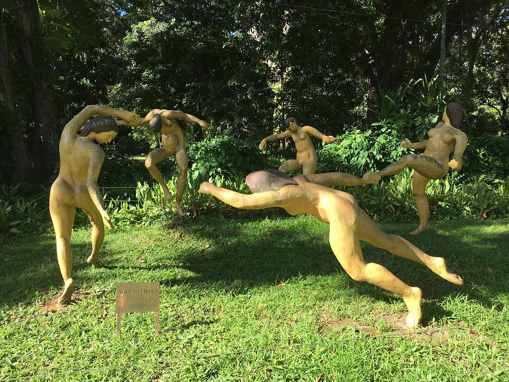 Matisse sculpture, Jardim Botanico, Rio