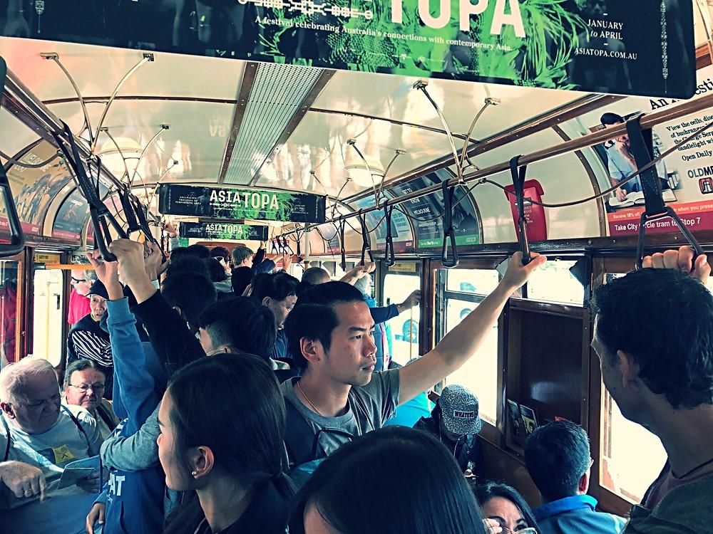 Melbourne tourist free tram