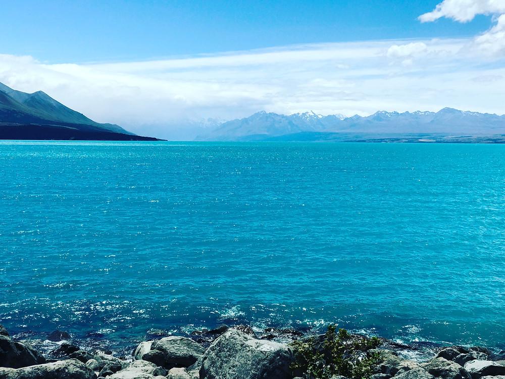 Lake Pukaki, Mount Cook, New Zealand