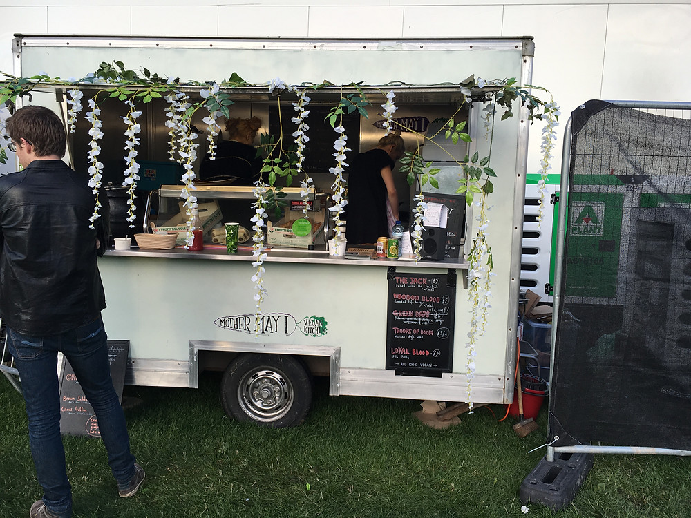 Mother May I food van at Festwich