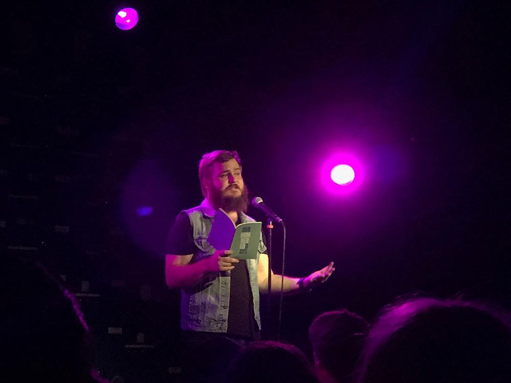 Neil Hilborn, Gorilla, Manchester