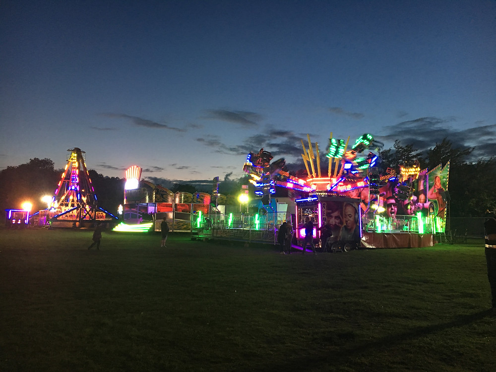 Rides and attractions at Festwich 2016