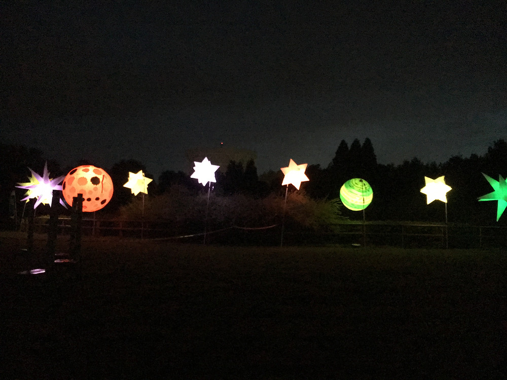 Light up stars and planets at Bluedot Festival