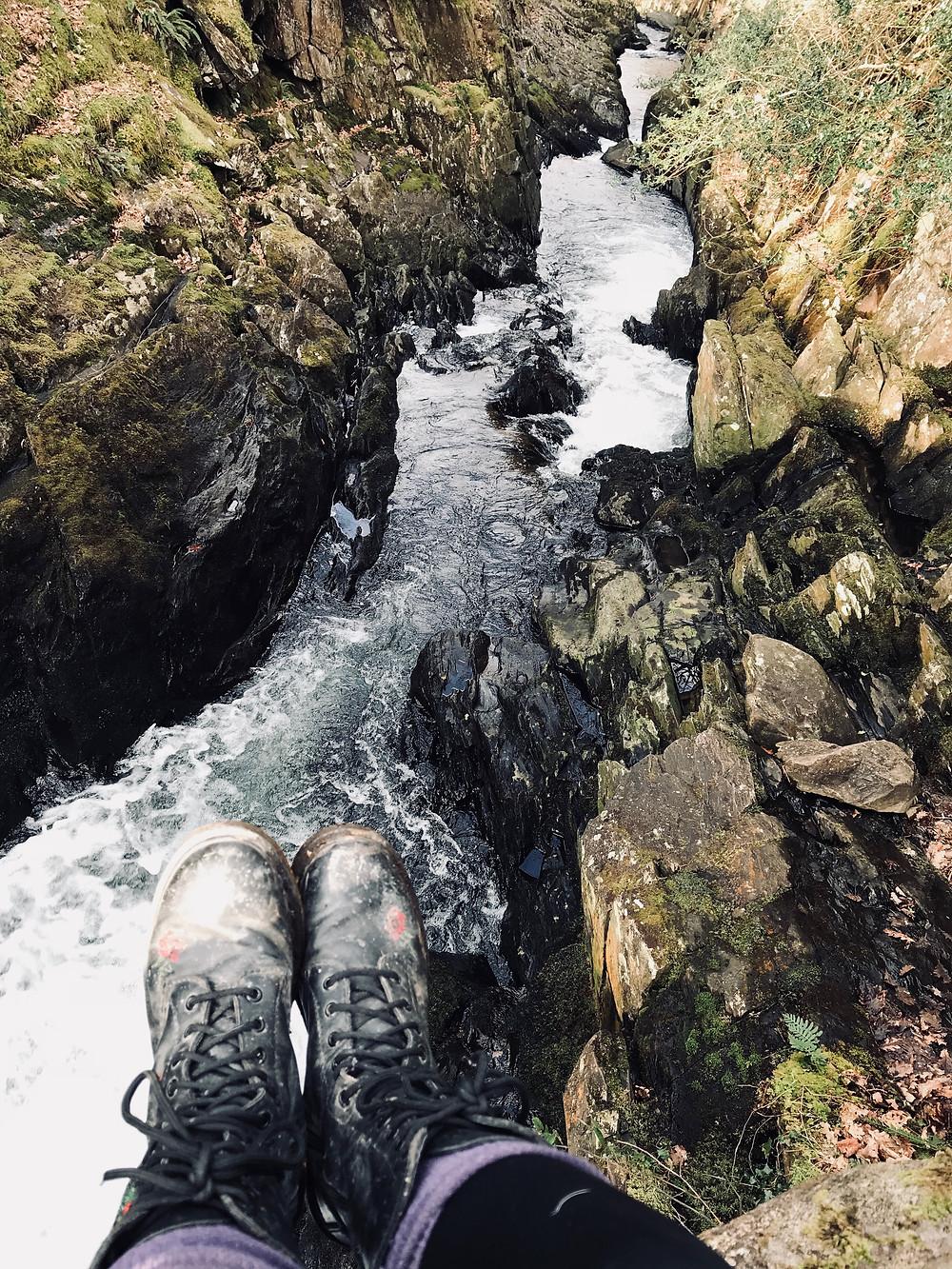 Nantcol Waterfalls, Wales