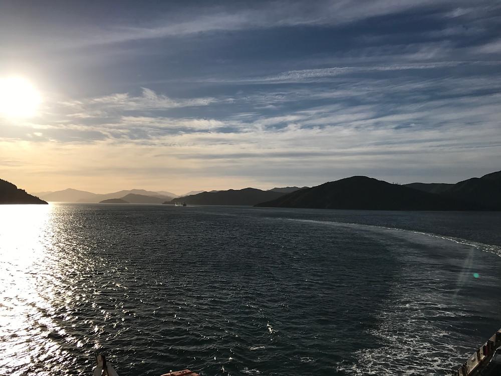 New Zealand Ferry Crossing