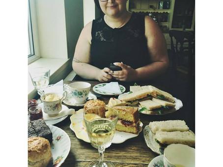 Afternoon Tea at Teahive, Chorlton