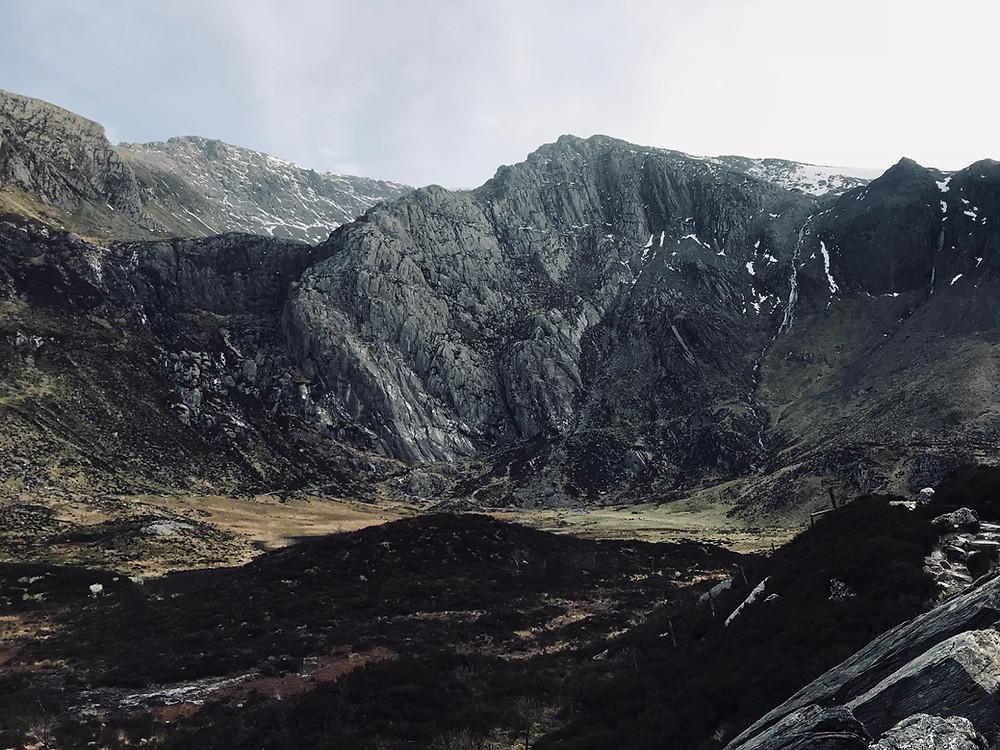 Devils Appendix Waterfall, Snowdonia Wales