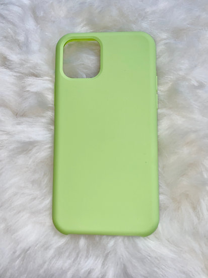 11 Pro Silicone iPhone Case