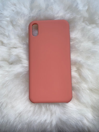 XS Max Silicone iPhone Case