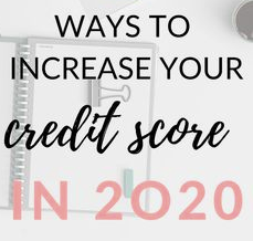 How I Raised My Credit Score!