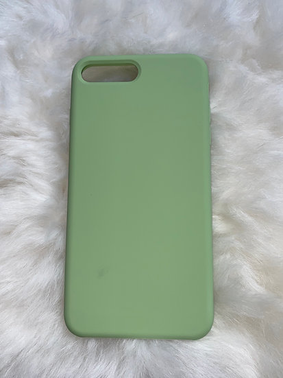 7/8 Plus Silicone iPhone Case