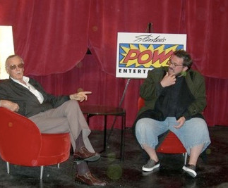 """Kevin Smith Hosts Stan """"The Man"""" Lee At Hollywood's Master Storytellers"""