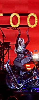 Lady Gaga At Dream Vision Studio's Rehearsal