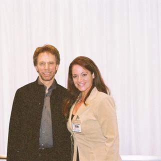Jerry Bruckheimer With Nadine Christine Hamdan Before Screening