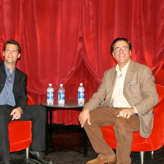 Michael Siegal & Andy Garcia With Hollywood's Master Storytellers