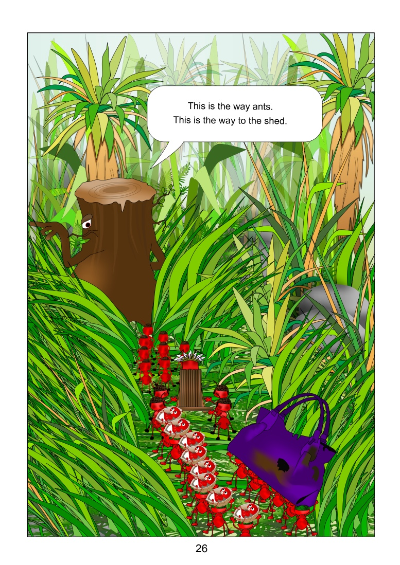 The ants page 26