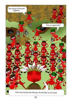 The ants page 23