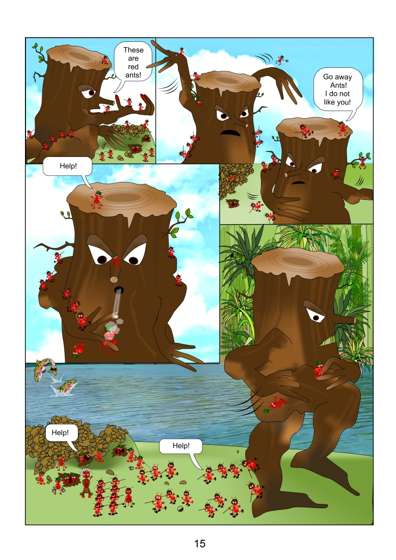 The ants page 15