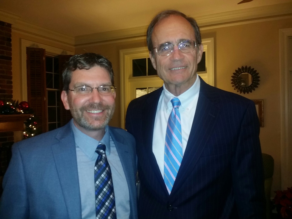 Me and Secretary of State Delbert Hoseman.