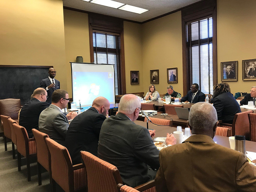 Mississippi River Legislative Caucus meeting with national directors and relevant groups and legislators in Mississippi to discuss river concerns.