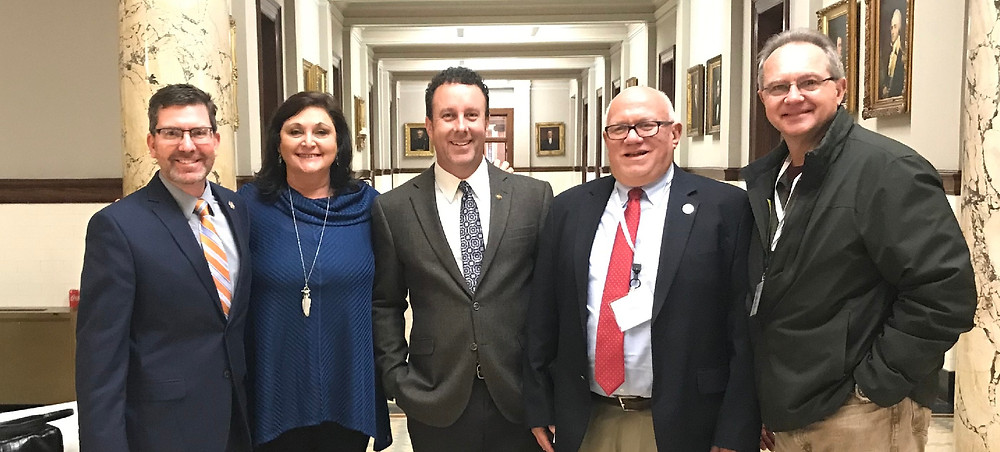 Desoto County Supervisors Visit the Capitol.