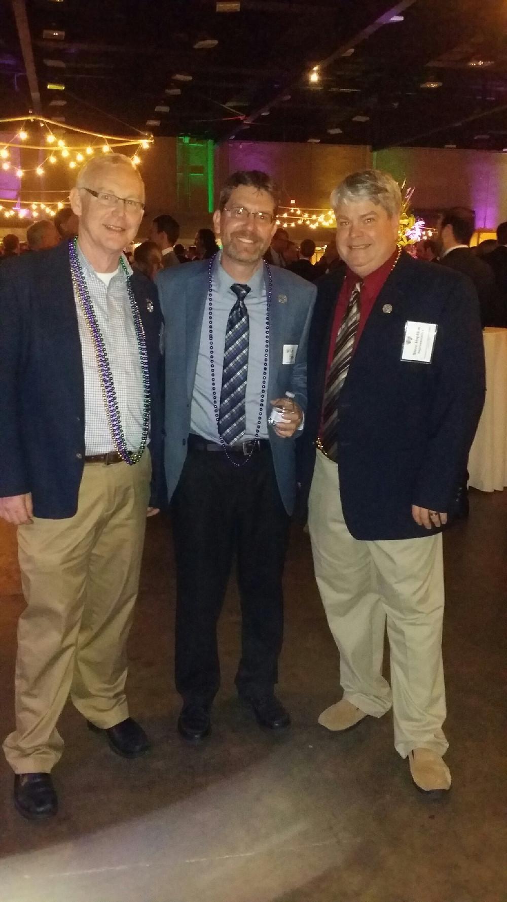 Dana Criswell, me, and Steve Hopkins at the Gulf Coast Legislative Reception.
