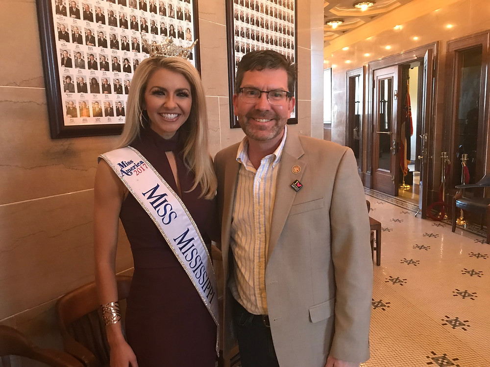 We honored Miss. Mississippi in the House this week.