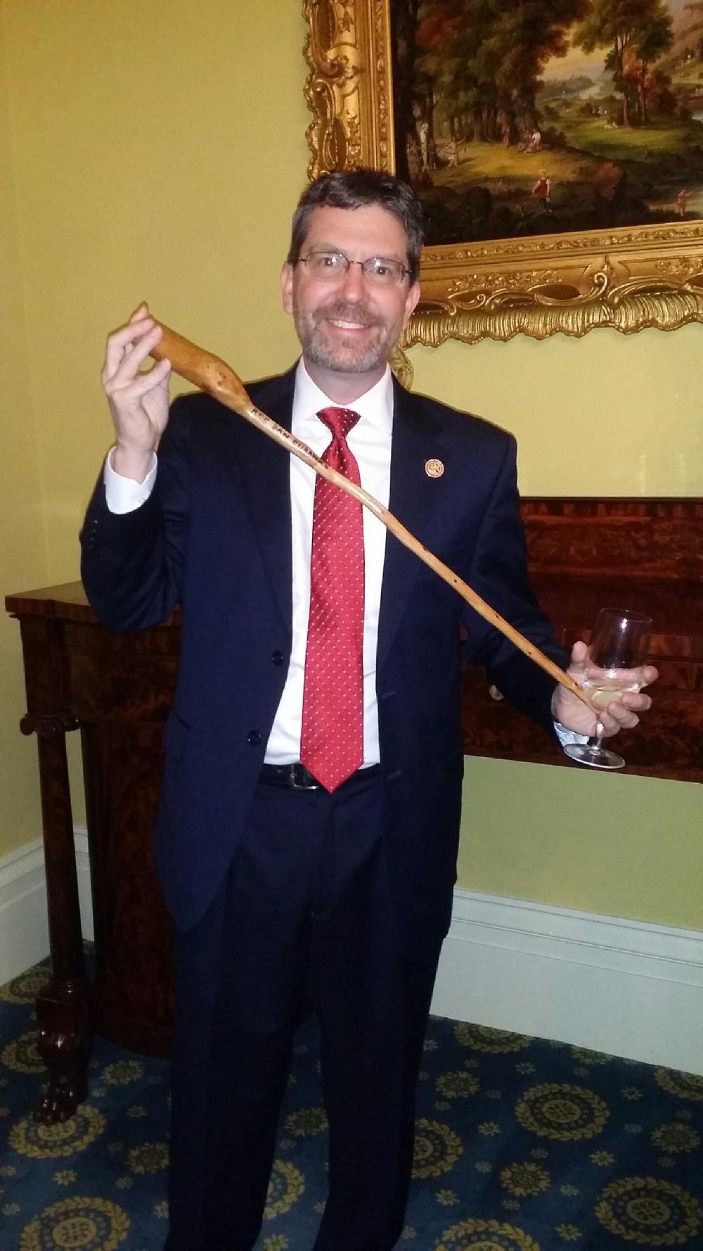 """My new """"Pokey"""" stick."""